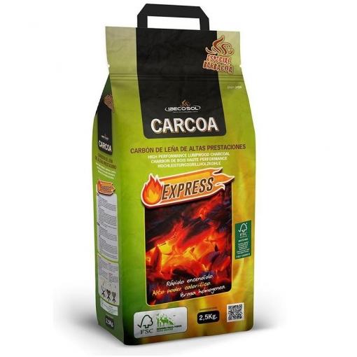CARBON VEGETAL BARBACOA 2.5KG