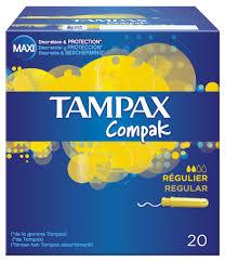 TAMPAX COMPAK REGU 20UDS