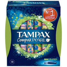 TAMPAX COMP.PEARL SUPER 18U