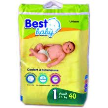 PANAL BEST BABY STANDARD 03-05KG 40 UDS