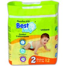 PANAL BEST BABY STANDARD 05-10KG 35 UDS