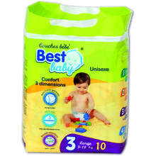 PANAL BEST BABY STANDARD 09-18KG 30 UDS