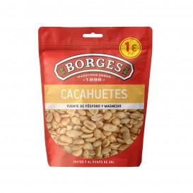 CACAHUETES FRITO/SAL 120GR BORGES
