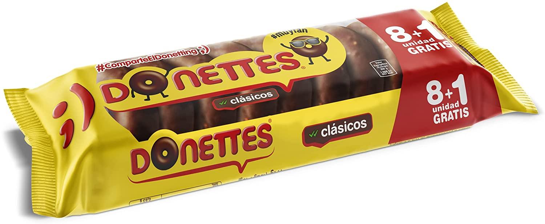DONETTES CLASICOS 8+1.BIMBO