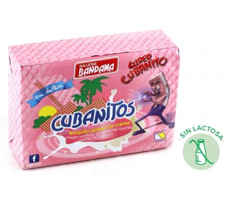 CUBANITOS BARQUILLO 90GR BANDAMA