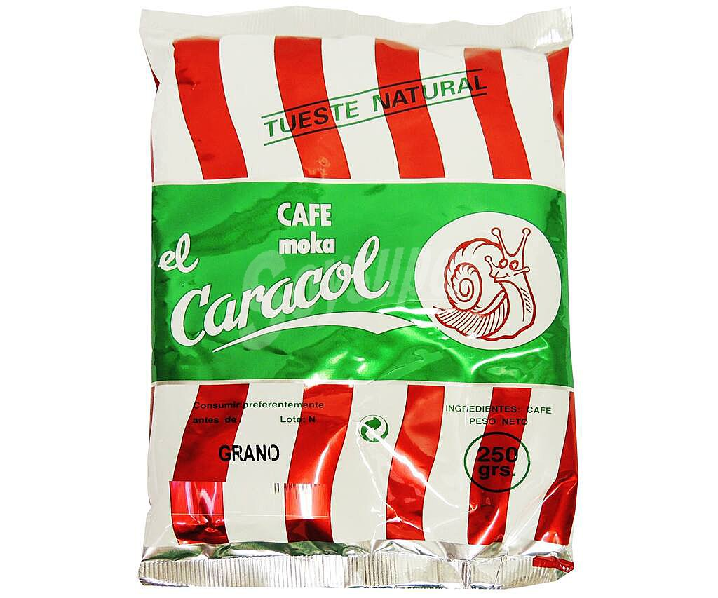 CAFE CARACOL NATURAL 250GRS