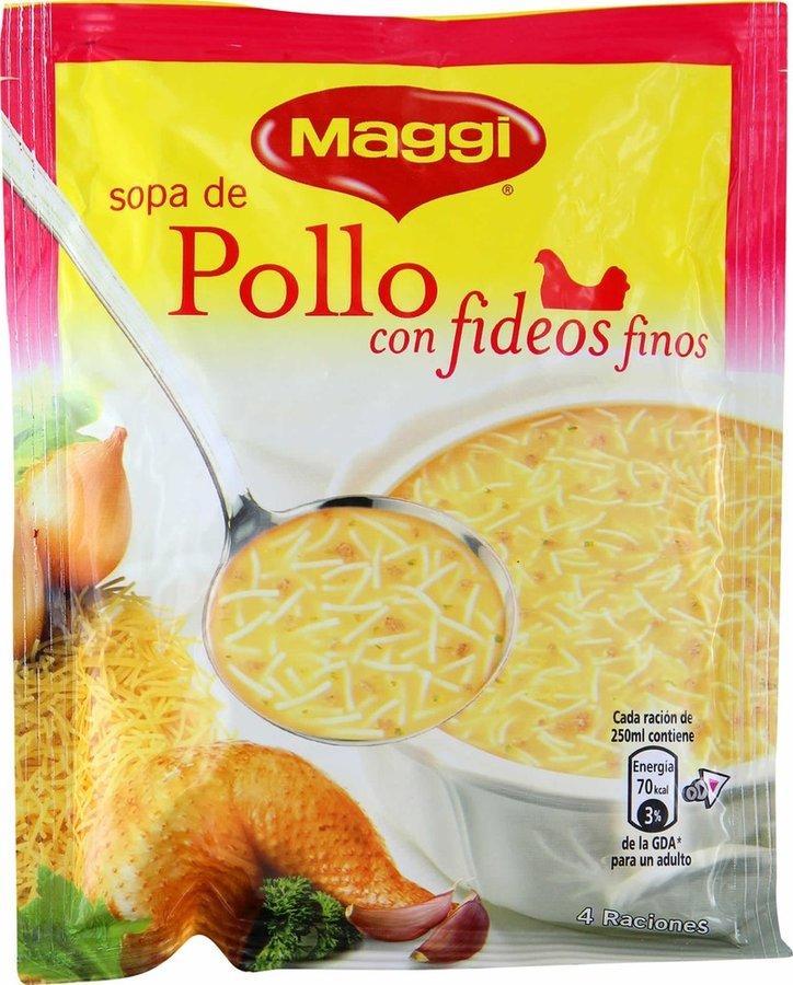 SOPA POLLO/FIDEOS 76GR MAGGI