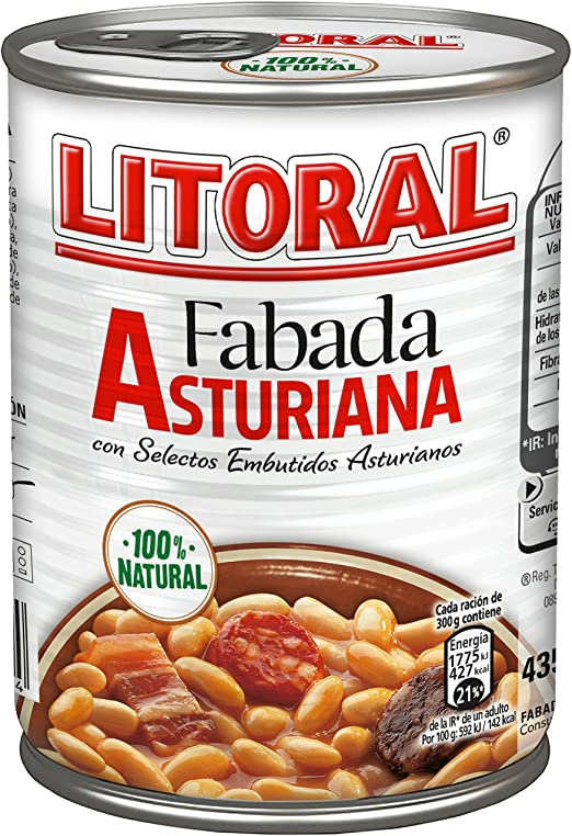 FABADA ASTURIANA 435KG LITORAL