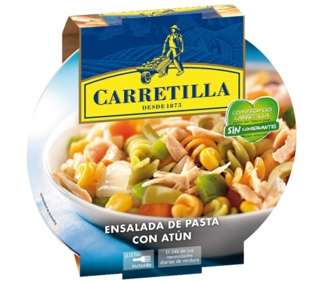 ENSALADA PASTA/ATUN 240GR CARRETILLA