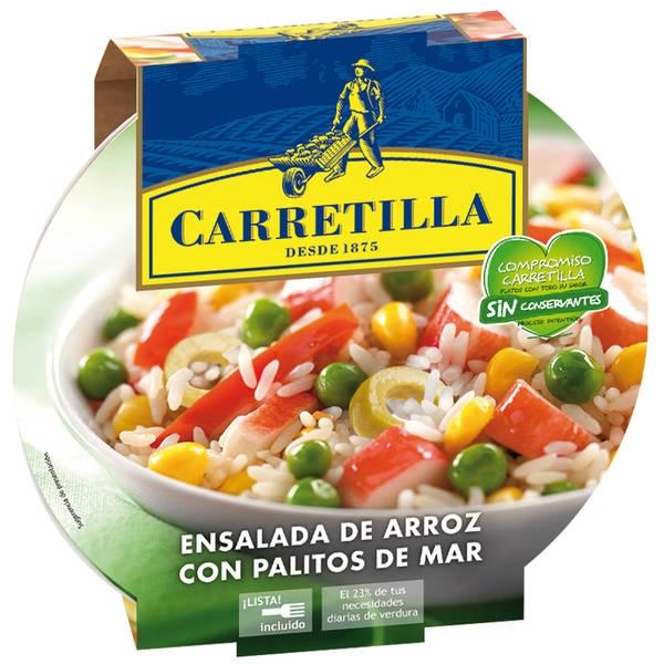 ENSALADA ARROZ/PALITOS 240GR CARRETILLA
