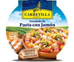 ENSALADA PAST/JAMON 240GR CARRETILLA