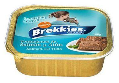 BREKKIES CAT SALMON/ATUN 100GR