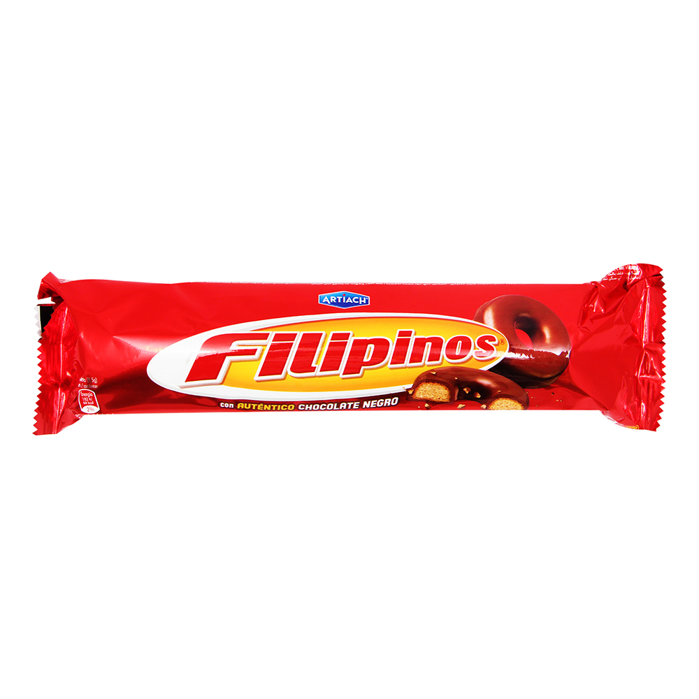 FILIPINOS CHOC/NEGRO 135GR ARTIACH
