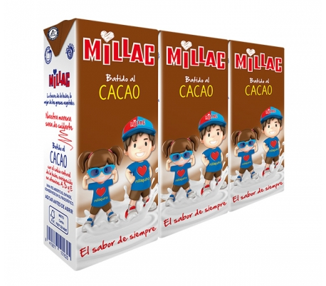 BATIDO MILLAC CACAO  200 10