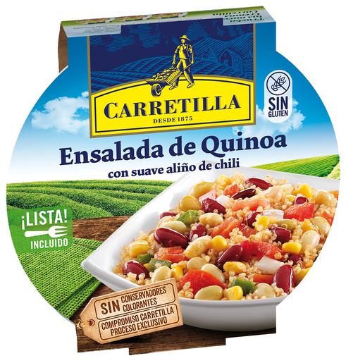 ENSALADA QUINOA 230GR CARRETILLA