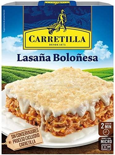 LASANA BOLONESA 375GR CARRETILLA