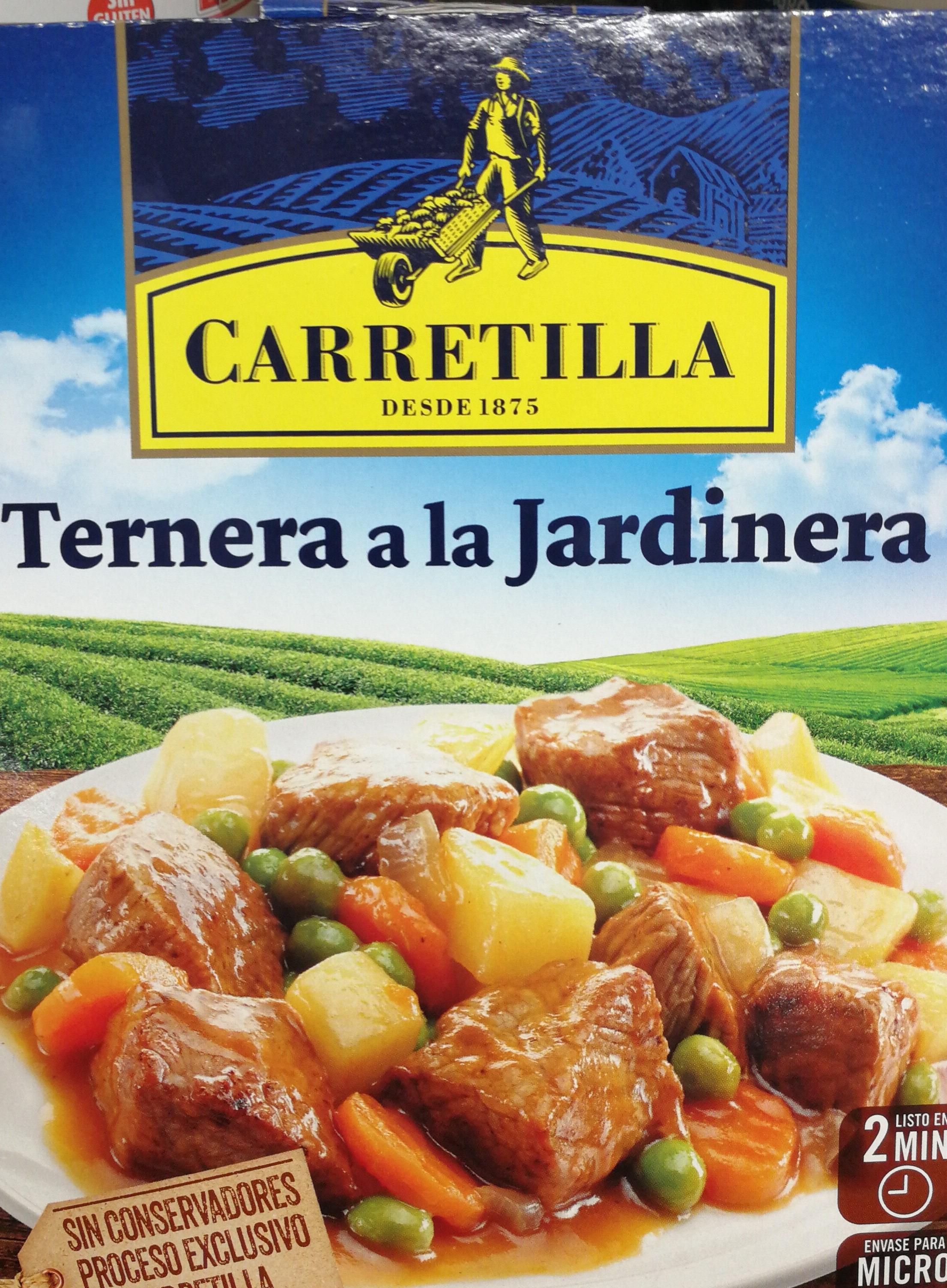 TERNERA A LA JARDINERA 275GR CARRETILLA
