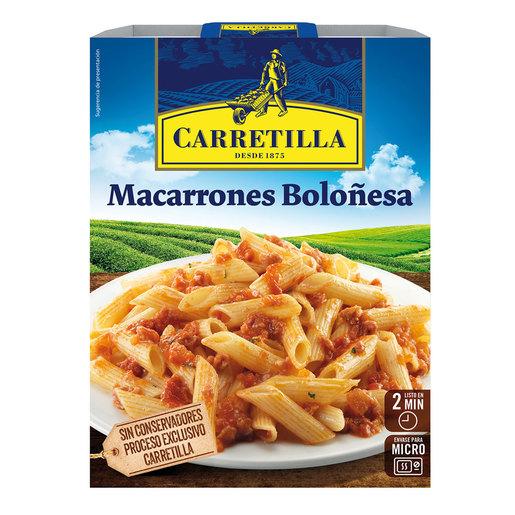 MACARRONES BOLONESA 325GR CARRETILLA