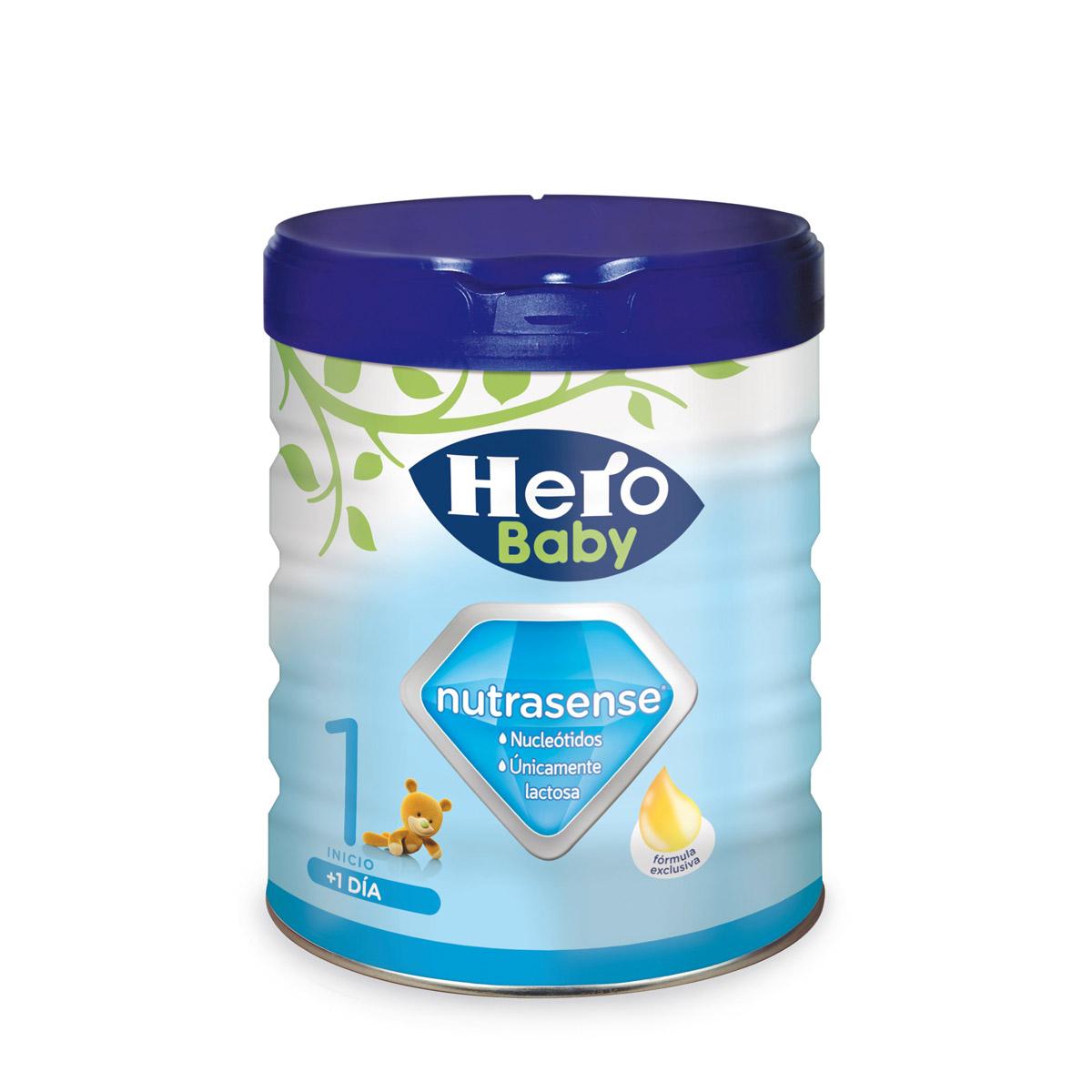 LECHE NUTRASENSE 1 HERO 800GR