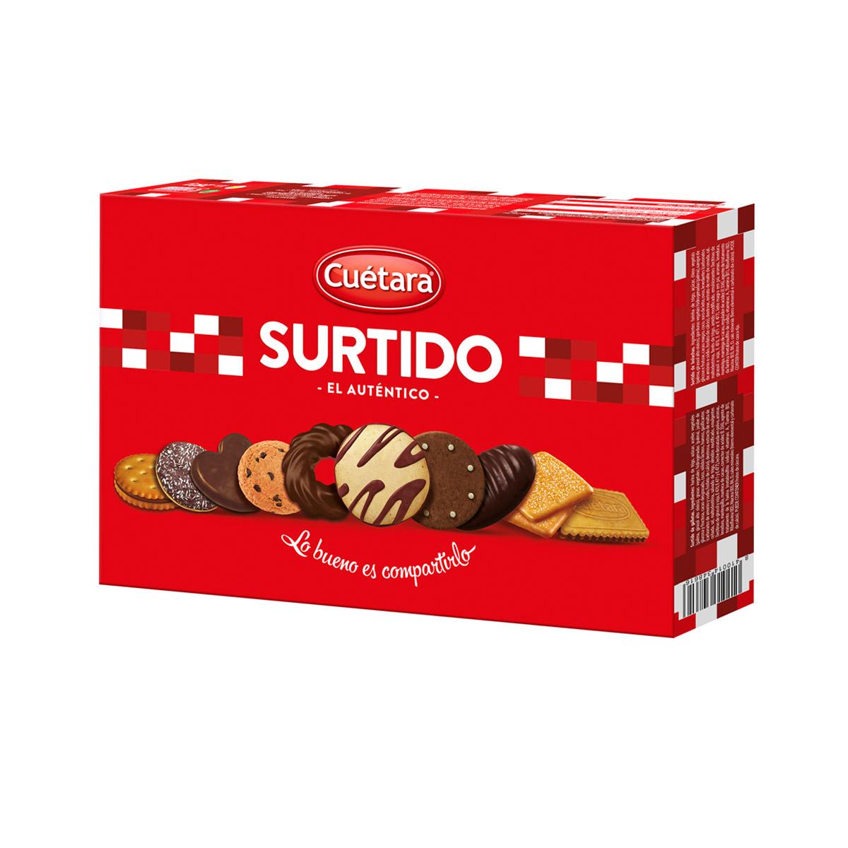 SURTIDO CUETARA 210GR