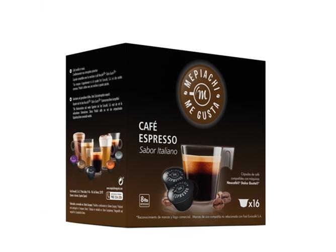 Capsula Cafe Expresso Intenso 16u