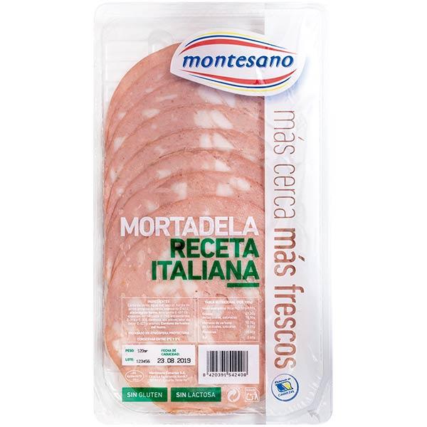 MORTADELA ITALIANA 100GR MONTESANO