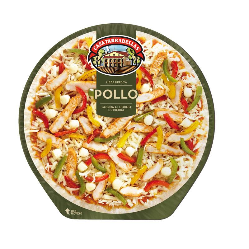 PIZZA POLLO 410GR TARRADELLAS
