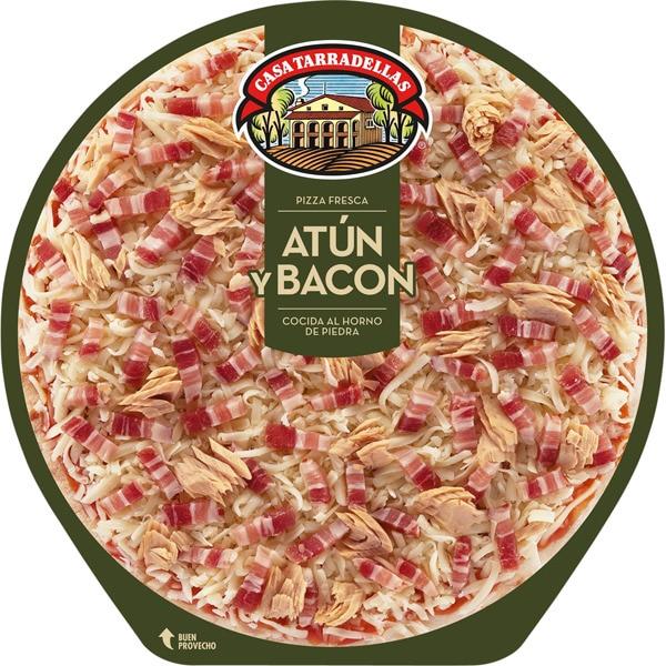 PIZZA ATUN/BACON 405GR TARRADELLAS