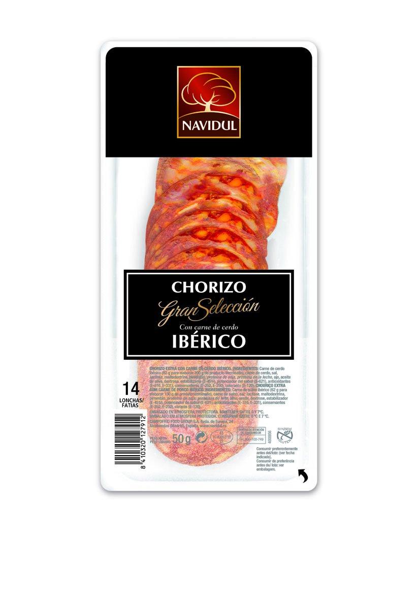 CHORIZO IBERICO NAVIDUL 45GR CAMPOFRIO