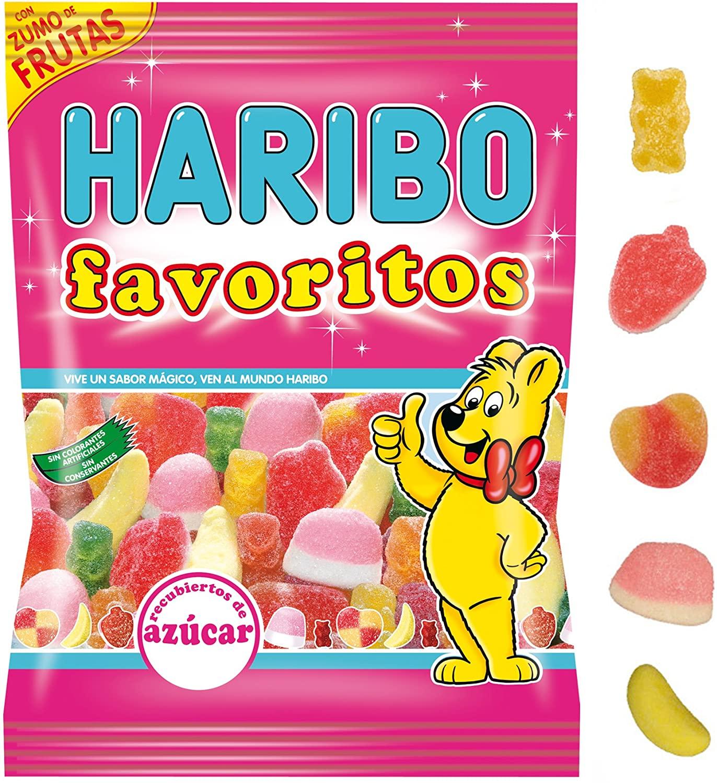 FAVORITOS AZUCAR 90GR HARIBO