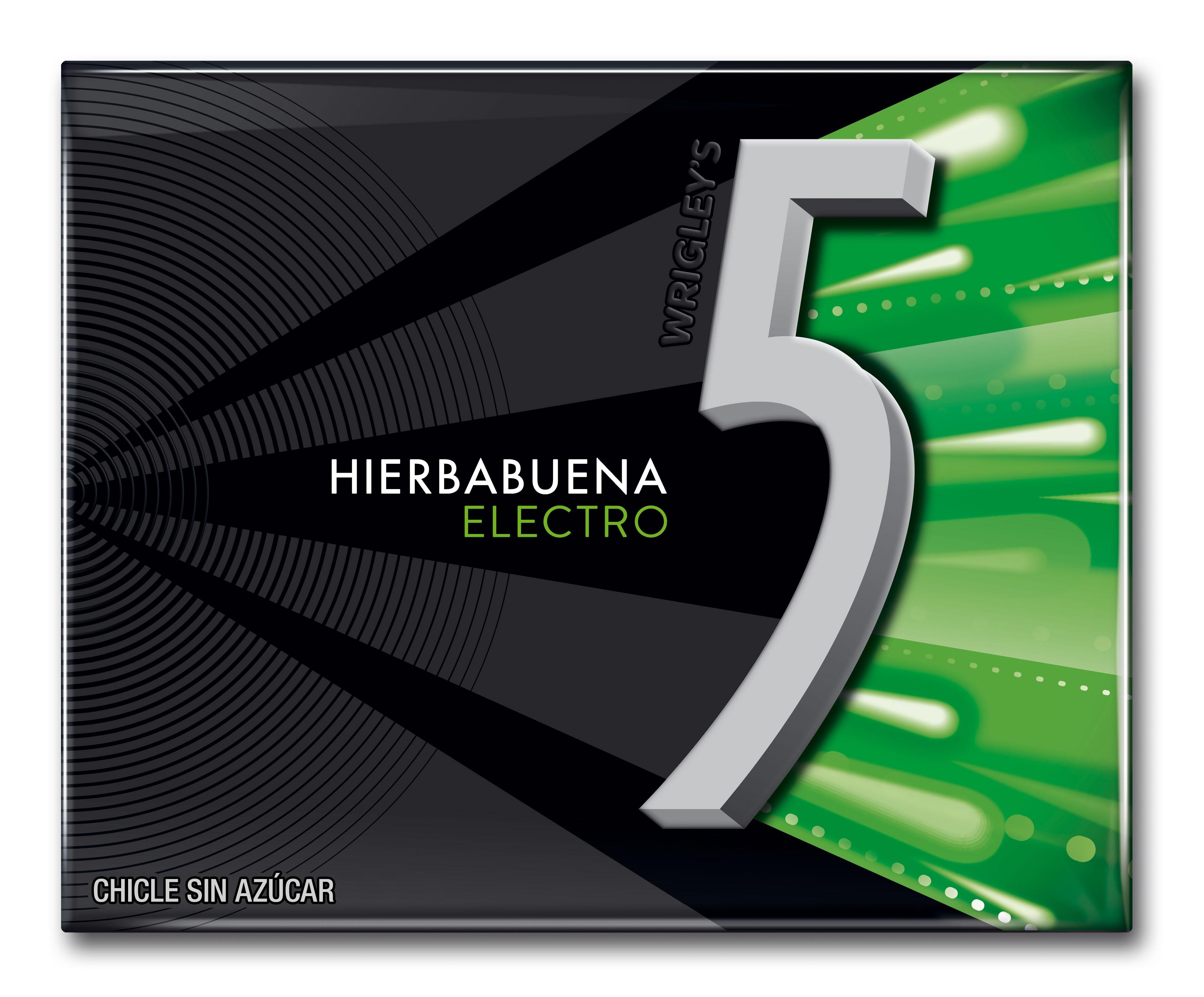 FIVE ELECTRO HIERBABUENA 29GR
