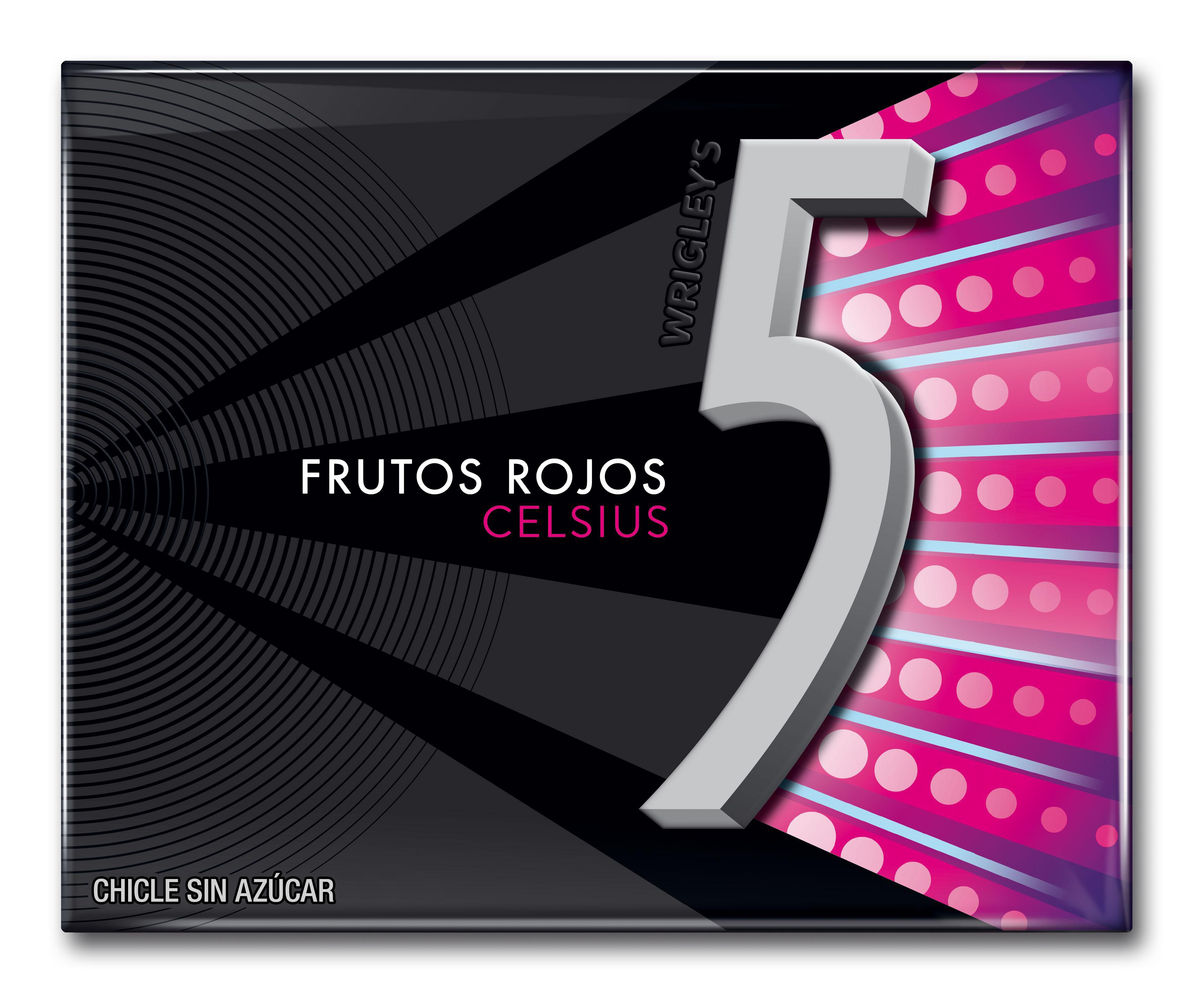 FIVE CELSIUS FRUTOS ROJOS 29GR
