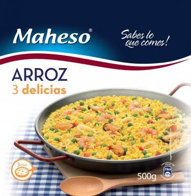 ARROZ TRES DELICIAS 500GR MAHESO