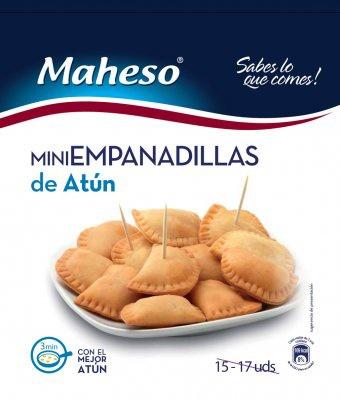 Empanadillas Atun 500gr Maheso