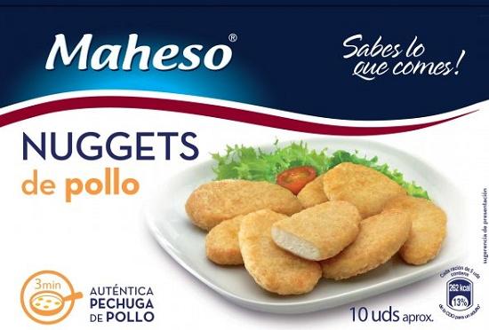 NUGGETS POLLO 300GR MAHESO
