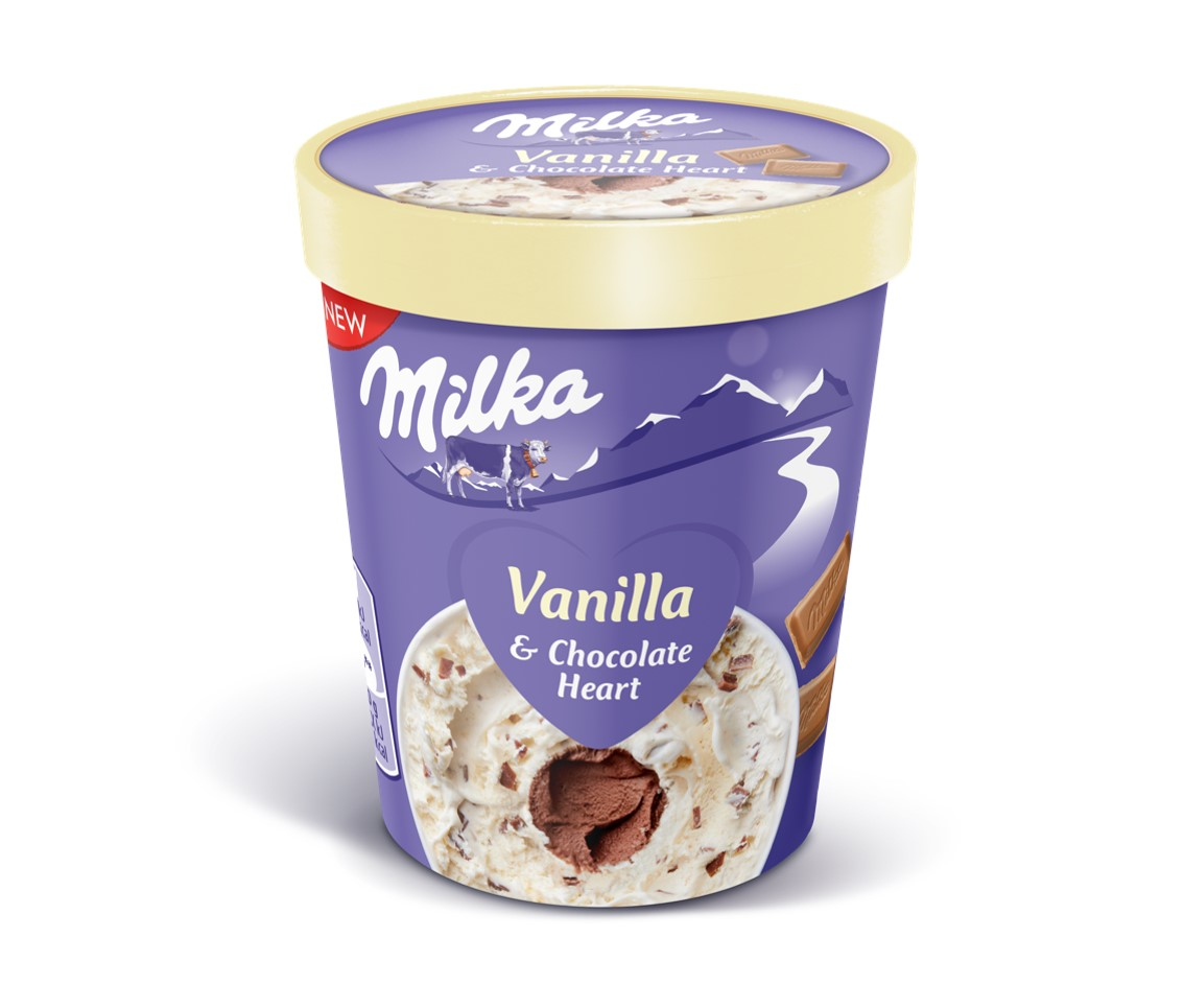 Helado Milka Vainilla Choc 480ml Hn Ff