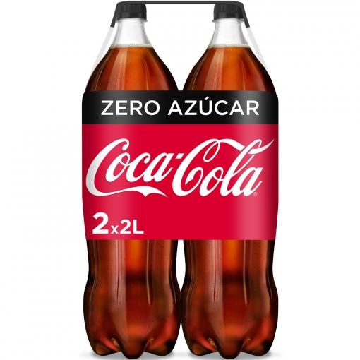 Coca Cola Zero Pack 2x2l