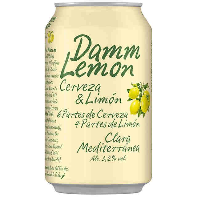 DAMM LEMON 33CL