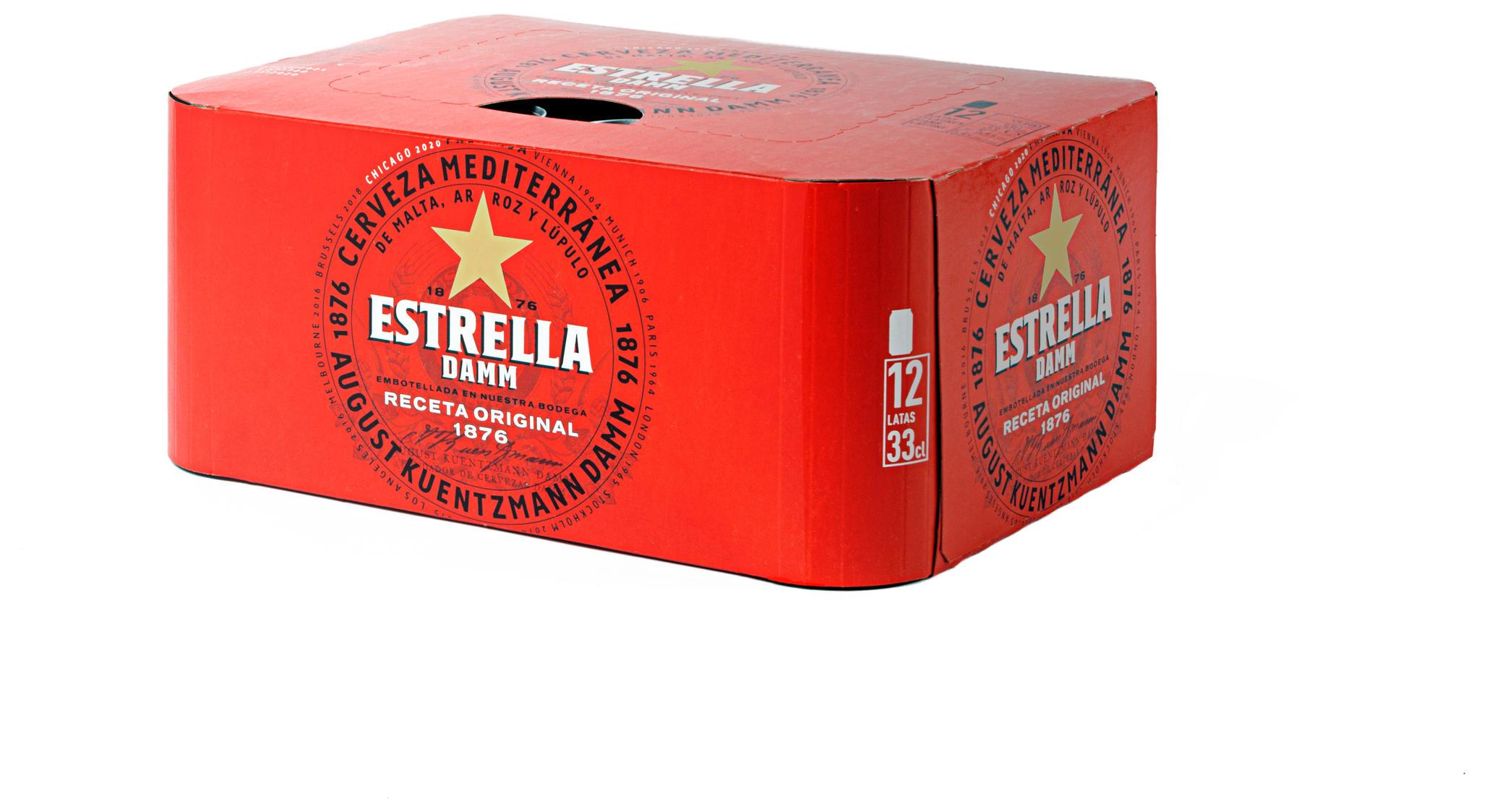 ESTRELLA DAMM PACK12X33CL